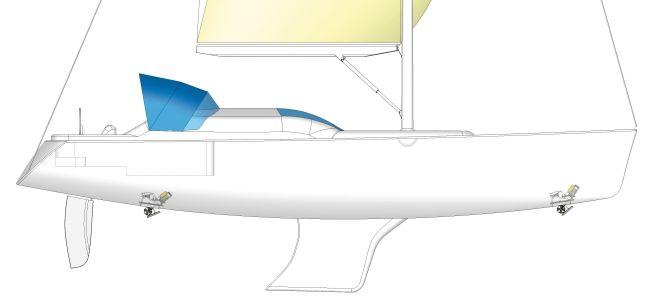 Электрические подруливающие устройства выдвижного типа.Предназначены для установки на яхты длиной от 8 до 15 метров.