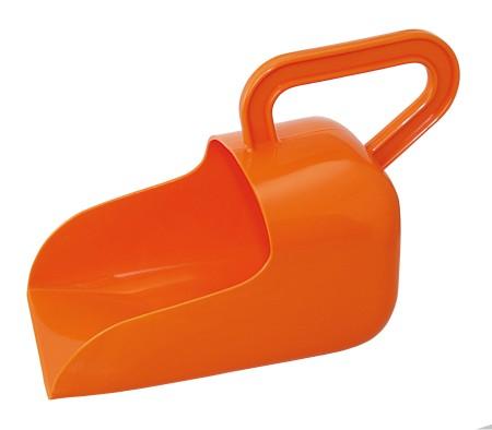 Ösfässer aus Kunststoff Höhe 150 mm orange