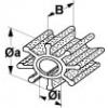 """IP500120T Impeller /""""Jabsco//Sherwood/"""""""