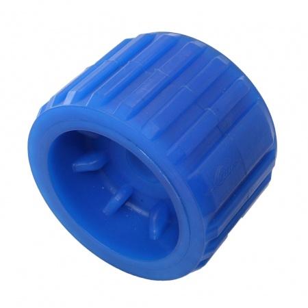 Seitenrolle aus Gummi mit Buchse 100 mm L/änge