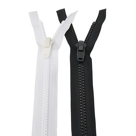 YKK Zeltreißverschluss 150cm weiß