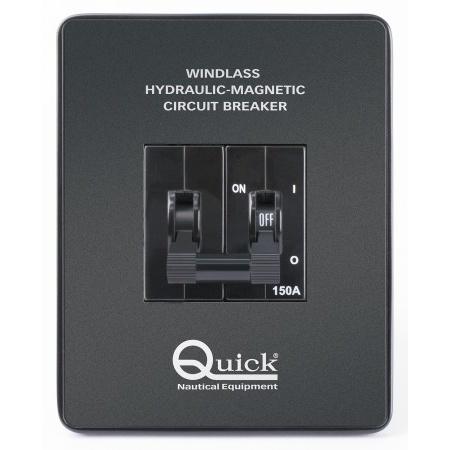QUICK,Hydraulik Magnet Unterbrecherschalter 80A QI2310080