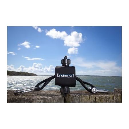 Lenzpumpe Drainman Festmacher Pumpe  Boot lenzen mit der Kraft der Wellen Boot